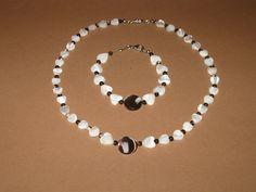 Perlmut Perlen Kette Armband