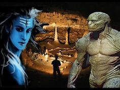 INTRATERRENOS - Historias Impressionantes Sobre Seres do Interior da Terra!!