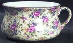 Chamber Pot. Vintage. Great for flowers or. Good. As a sick bowl