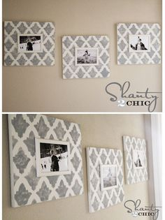 Beautiful Turkish Tulip #stenciled photo frames