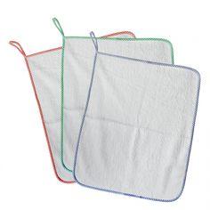 Set asilo 3 Asciugamani con asola di 8 cm per appenderli (misura 43 x 54cm), Colore bordo a quadretti a scelta e puoi scegliere la Personalizzazione con nome, li trovi qui: http://www.coccobaby.com/prodotto/set-consigliati-e-novita/set-completi-risparmio/784/set-3-asciugamani-con-asola-bianco