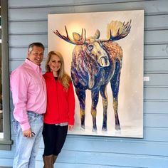 Such a great time delivering my commissions — & meeting some of my awesome Collectors at Park City Fine Art gallery (Park City, UT) last weekend! Colorful Animals, Wildlife Art, Fine Art Gallery, Park City, Animal Paintings, Galleries, Tatoos, Deer, Contemporary Art