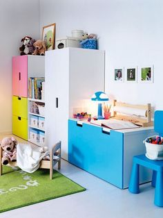 Children's room - the territory STUVA More nursery interiors: https on sample database, sample doc, sample software,