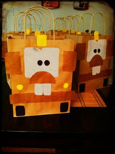Mater party bags