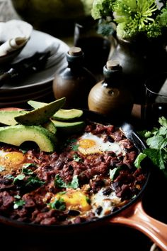 From The Kitchen: Huevos Rancheros. This is great for breakfast, lunch or dinner.