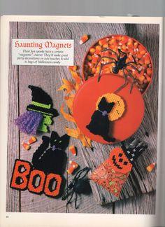 HAUNTING MAGNETS by JAMIE SUE TAUBENHEIM, CLARA M. ALBERT, VIRGINIA HOCKENBURY & LAURIE MONAHAN 1/2