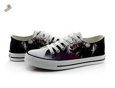 Tokyo Ghoul Kaneki Ken Cosplay Shoes Canvas Shoes Casual Shoes Sneakers Colourful 3 Choices - Telacos sneakers for women (*Amazon Partner-Link)