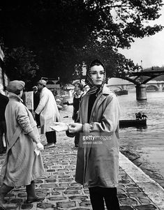 Hepburn, Audrey - Actress, Netherlands / Great Britain - (*-+) Scene from the movie 'Funny Face'' Directed by: Stanley Donen USA 1957 Produced by: Paramount Pictures Vintage property of ullstein bild..