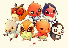 Cute Bird Pokemon :3