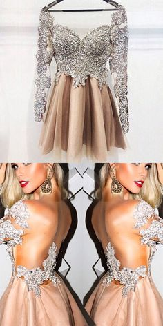 homecoming dresses,short homecoming dresses,fashion homecoming dresses,prom dresses for teens,champagne homecoming dresses,