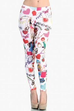 OMG Jewelry Fashion Leggings
