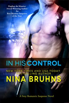 IN HIS CONTROL (Jean-Marc & Ciara) -- Enemies by day...lovers by night. Detective Jean-Marc Lacroix is obsessed with catching a clever art thief who has outwitted him at every turn. Little does he know the thief is really the beautiful woman he just seduced. Or does he...? http://amzn.to/1EVpSQV  http://apple.co/1JkzUSe http://www.bn.com/s/2940149556922