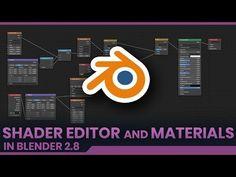 Shader Editor and Procedural Materials - Switch to Blender Blender 3d, Blender Tutorial, Modeling Tips, Art 3d, Video Tutorials, Cgi, Editor, Animation, Board