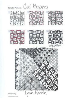 COOL BEANS zentangle - Google Search