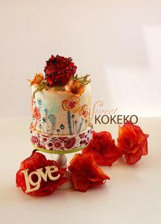 Lets Spring! Spring Cake by Sweet KOKEKO.