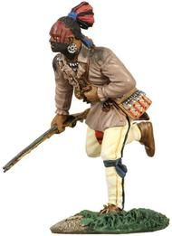 W. Britain - 16007 - Eastern Woodland Indian Running with Musket No.1