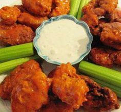 Cooked in the fryer, the oven and even the slow cooker, these top-rated chicken wings will wow your party guests or satisfy a simple weeknight craving. Find more football snacks, sandwiches and chilis here �  By: Liza on Google