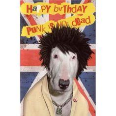 Carte Pets Rock Happy Birthday Punk is Not Dead - Cadeau Maestro Happy Birthday Parties, Happy Birthday Quotes, Happy Birthday Wishes, Birthday Greetings, Birthday Memes, Bday Cards, Punk, Pet Rocks, Birthday Board