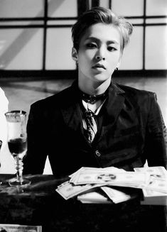Xiumin  . Love . Cre: the owner/ as logo