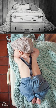 Cuteness Monster!  Love these newborn boy pics!