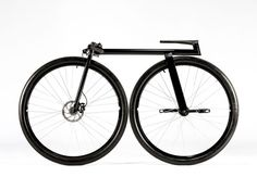 "It comes from Michigan-based Inner City Bikes.  Said designer Joey Ruiter, ""Our goal was to hit the reset button on bike design.""  By George, I think they've done it. From Men's Journal,  ""It is a sci-fi cycle with the essentials only: an aluminum frame, freewheel rear hub, 36-inch tires, disc brakes, custom-fit cranks, and a seat. Not even a chain or drive train.""  $3,000–$5,000."