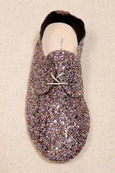 Anniel Multi Glitter Shoes