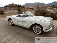 image of 1958 corvette | Click for full sized image gallery on this 1958 Convertible Corvette