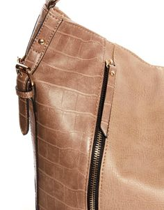 new look strappy hobo bag details