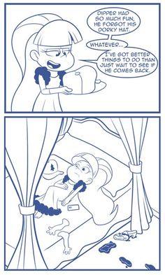 Gravity Falls,фэндомы,GF Персонажи,Pacifica Northwest,GF Комиксы