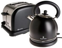 Black Pack Kettle and Toaster