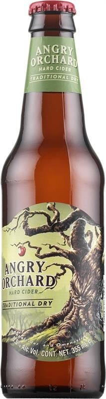 Angry Orchard Traditional Dry Hard Cider - siideri alko €3,41