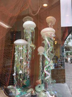 Jellyfish window display