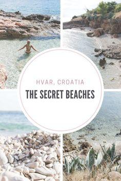 The secret beaches of Hvar, Croatia - from travel blog: http://Epepa.eu/?utm_content=bufferb9dfa&utm_medium=social&utm_source=pinterest.com&utm_campaign=buffer: