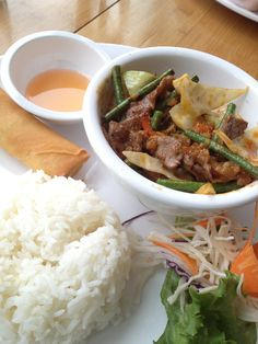 ChaBaa Thai - Panang Beef Curry, Good Food, Beef, Restaurant, Ethnic Recipes, Meat, Twist Restaurant, Curries, Diner Restaurant