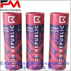Printed large paper tube packaging for shirt or dress packaging Packaging Manufacturers, Cardboard Tubes, Kraft Paper, Box Packaging, Package Design, Red Bull, Boxes, Printed, Shirt