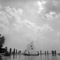 Chesapeak Bay Maryland. Mamiya C330 65mm. Kodak TRI-X. NIK Silver Efex Pro. #sailing #sailboat #chesapeakebay #marylandfilmphotographer #mamiya #beliveinfilm #120film #summer by graypicturesllc