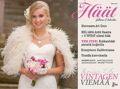 Upouusi Häät-lehti on nyt saatavissa myös digilehtenä! Koko Eleganttia vintagen viemää Häät-lehti on siis luettavissa myös mobiilisti, tabletilla tai vaikka läppärillä digitaalisessa muodossa. ... Lace Wedding, Wedding Dresses, Nhl, Art Deco, Flowers, Vintage, Fashion, Bride Dresses, Moda