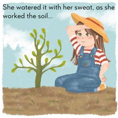 What wondrous things happen when a girl plants a seed. Read the best bedtime stories, fairy tales, nursery rhymes, short stories and poems for kids here!