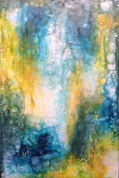 Slow Dive by Chris Foster Encaustic and Oil on Wood Panel Wood Paneling, Contemporary Artists, The Fosters, Art Gallery, Creative, Artwork, Painting, Inspiration, Beautiful