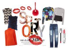 """Sporty Chic in Sportmax Code"" by jelmini on Polyvore featuring moda, Sportmax, MaxMara, Christian Dior e SportmaxCode"