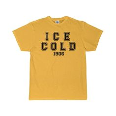Alpha Phi Alpha Fraternity Ice Cold 1906 Gold Men's T-Shirt