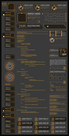 DX:HR UI stuff by pixel-freak