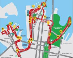 Course Details   Sydney Morning Herald Half Marathon
