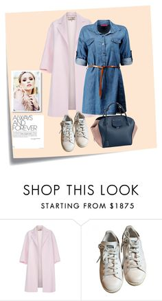 """""""Springtime blues..."""" by sweet-fashionista ❤ liked on Polyvore featuring Post-It, Paul Smith and adidas"""
