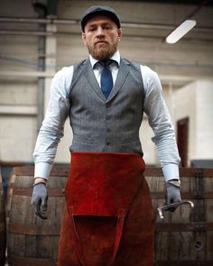 Working hard at my Whiskey distillery. It is in my opinion, the finest distillery we have on this great island. We have the purest soil,… Conor Mcgregor, Whiskey Distillery, The Pure, Irish Whiskey, My Opinions, Gq, Work Hard, Gentleman, That Look