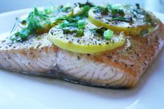 Today, I thought I would share a sweet and savory salmon recipe. YUM! Fresh dill and lemon add color but more importantly a lovely flavor. For some garlic flavor, sliced garlic scapes added a fini…