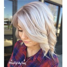 Icy blonde hair #blondehair #prettyhair #pastelhair