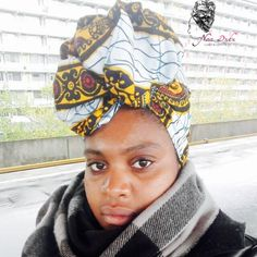 Headwrap: Vlisco Turban, Head Wraps, Queens, African, Classy, Comfy, Inspirational, Creative, Life