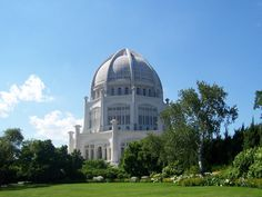 Baha'i House of Worship, Wilmette(Chicago), Illinois