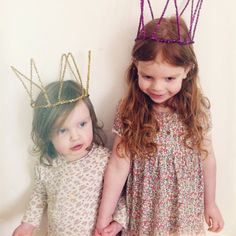cutest little crowns at GINGERLILLYTEA